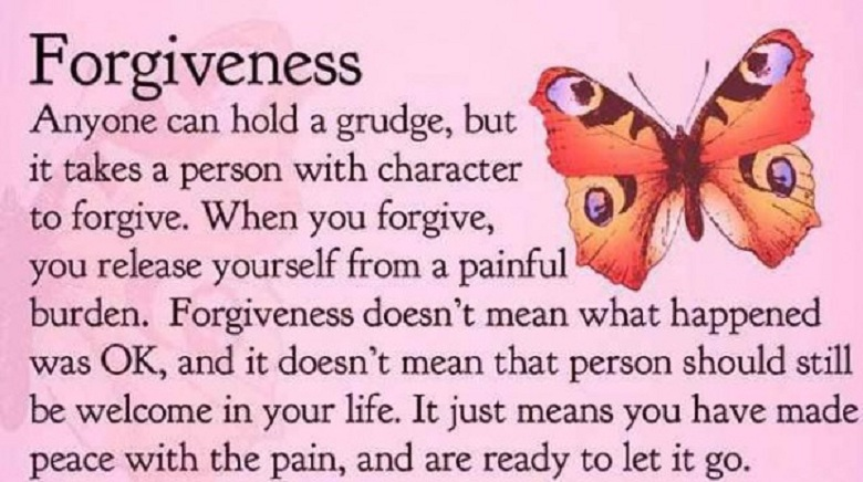 FORGIVENESS NOT A GIFT TO THE OFFENDER BUT TO YOURSELF