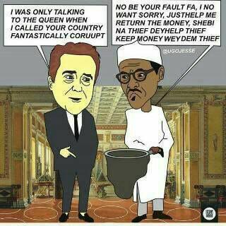 Buhari, cameron carton