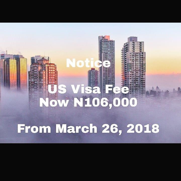 VISA RIP-OFF: DESPITE MAKING N19B IN ELEVEN MONTHS, U.S IS INCREASING VISA FEES