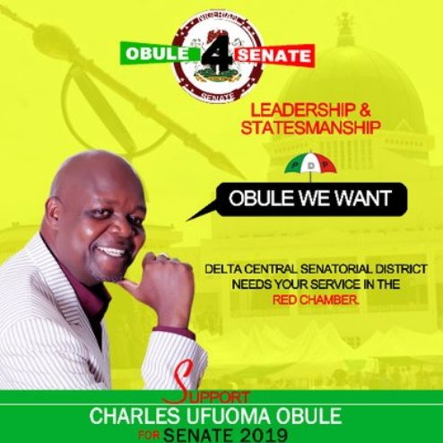 """SENATE 2019: URHOBO LEADERS, YOUTHS BACK CHARLES OBULE FOR """"HIS EXPERIENCE, HUMILITY, PHILANTHROPIC SPIRIT"""""""