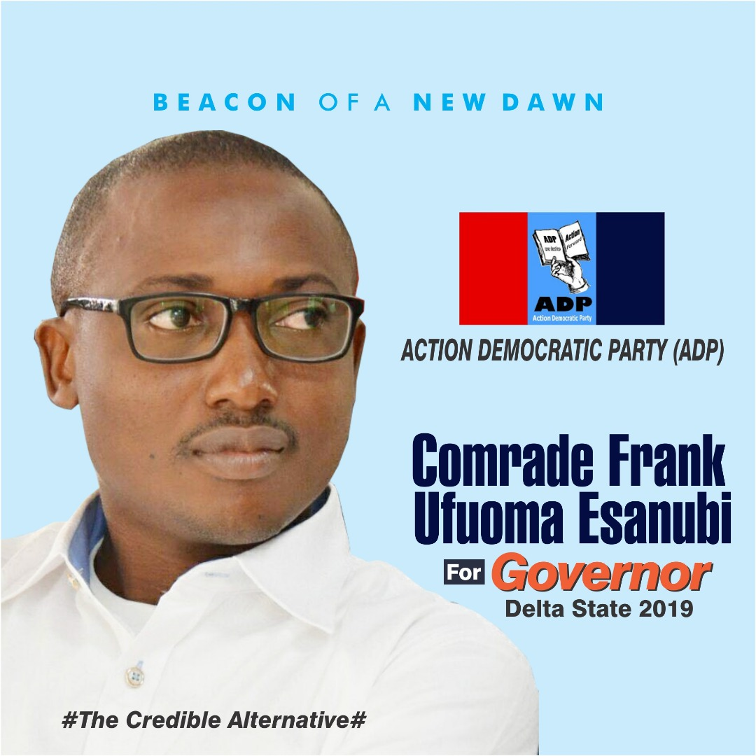 2019: DELTA GOVERNORSHIP ASPIRANT  PLANS TO USE DRONE, OTHER TECHNOLOGIES TO MONITOR ELECTIONS