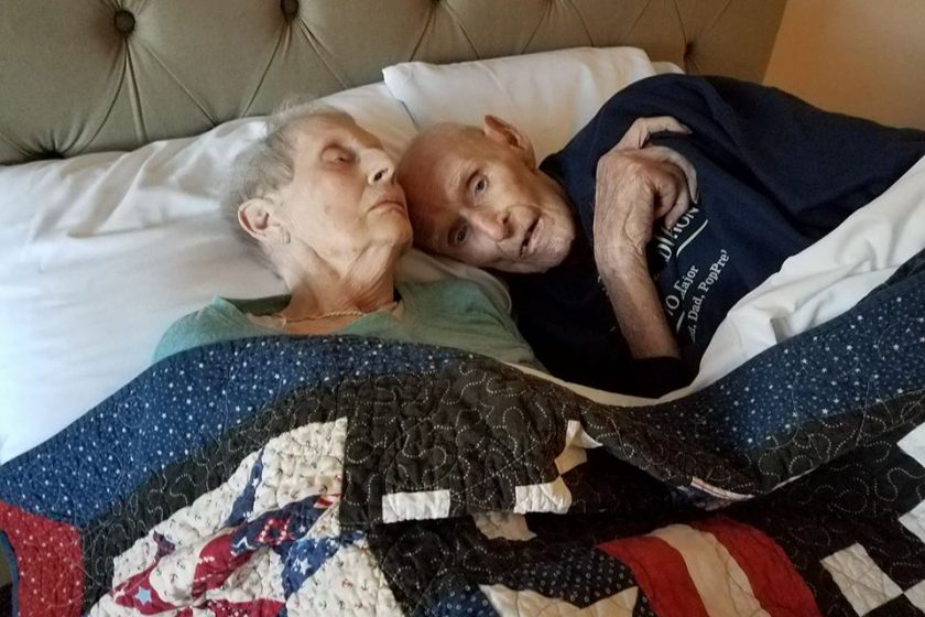 "INSPIRING: ""MARRIED FOR 70 YEARS, DIE HOURS APART"""