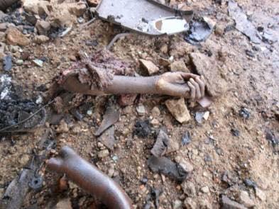 BLACK ID-EL-FITR, AS SIX FEMALE SUICIDE BOMBERS ON RAMPAGE IN BORNO KILL 32, INJURE 100