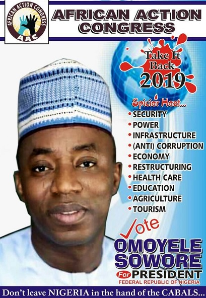 Why I prefer Omoyere Sowore as Nigeria's next President by Adeyeye Olorunfemi